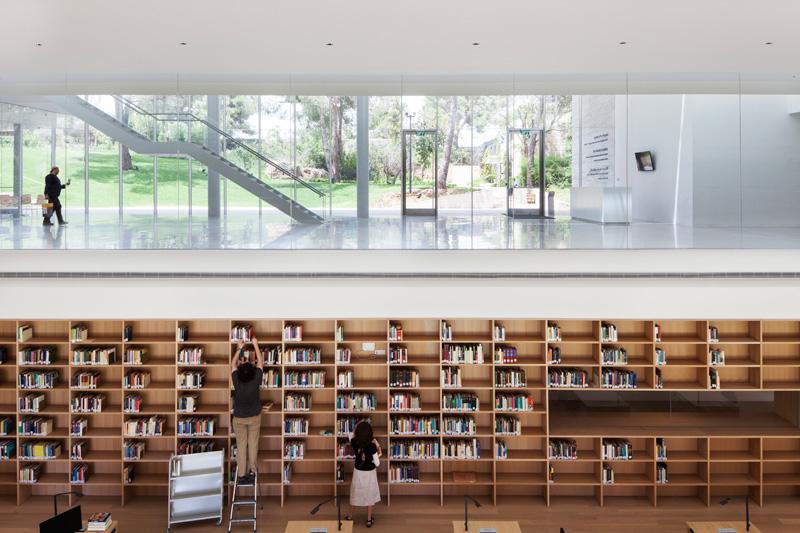 הספרייה האקדמית פולנסקי במכון ון ליר