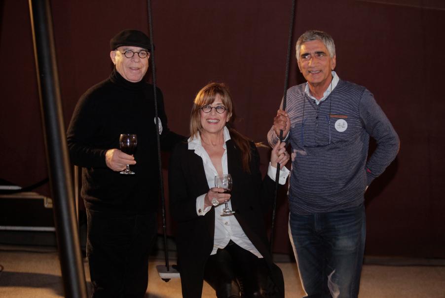 Left to right: Zvi Rimon Director CaesarStone® Israel.  Photo: Elad Rummy