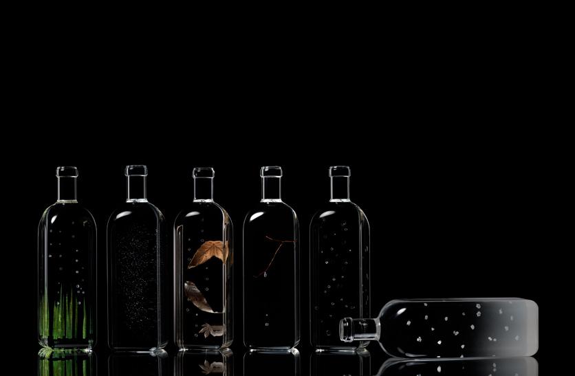 Rain bottle by Nendo. Photo: Hiroshi Iwasaki