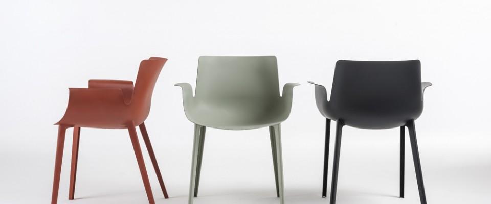 כסאות PIUMA בעיצוב פרוצ׳יו לוויאני לקרטל