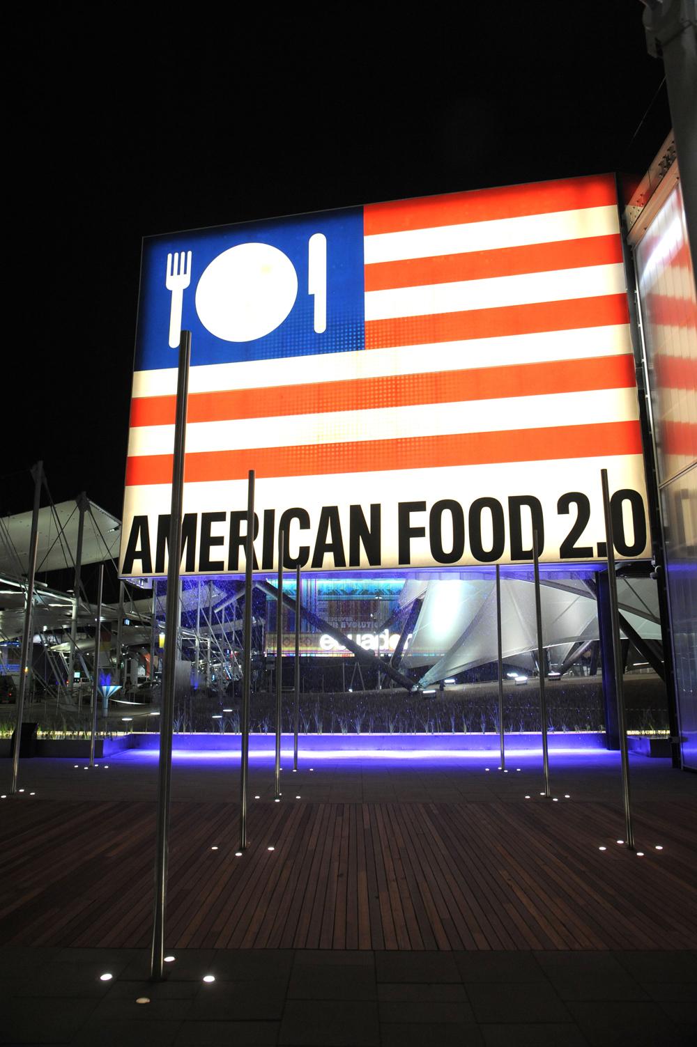 USA : Expo Milano 2015 : Daniele Mascolo