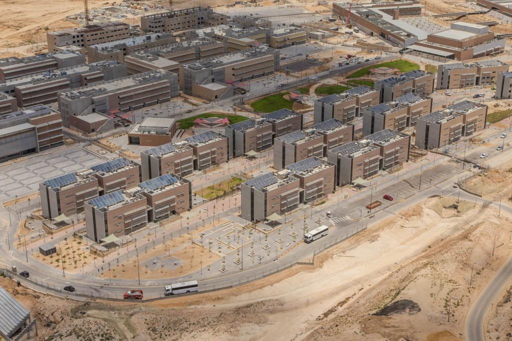 עיר הבה״דים. צילום: מבט לנגב הקמה בע״מ