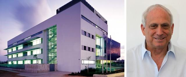 המכללה האקדמית תל אביב (צילום: עמית גרון) ואדריכל עופר קולקר