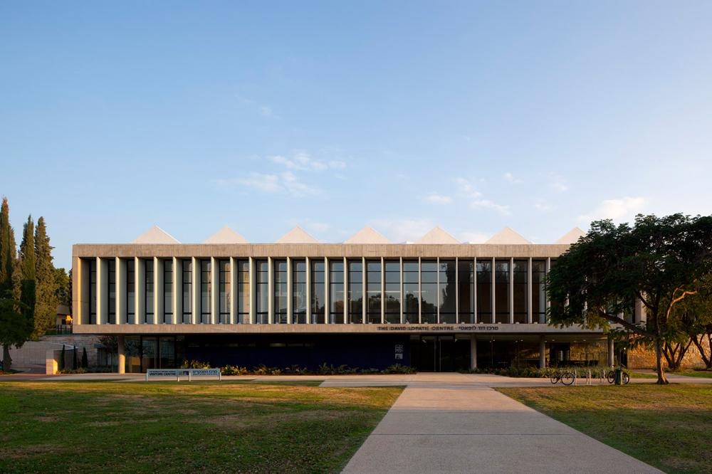 מרכז כינוסים ע״ש לופאטי, מכון ויצמן. צילום: עמית גרון