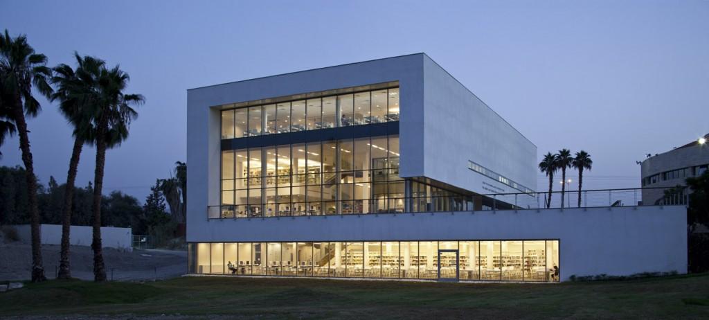 הספרייה במכללה האקדמית כנרת. צילום: עמית גרון