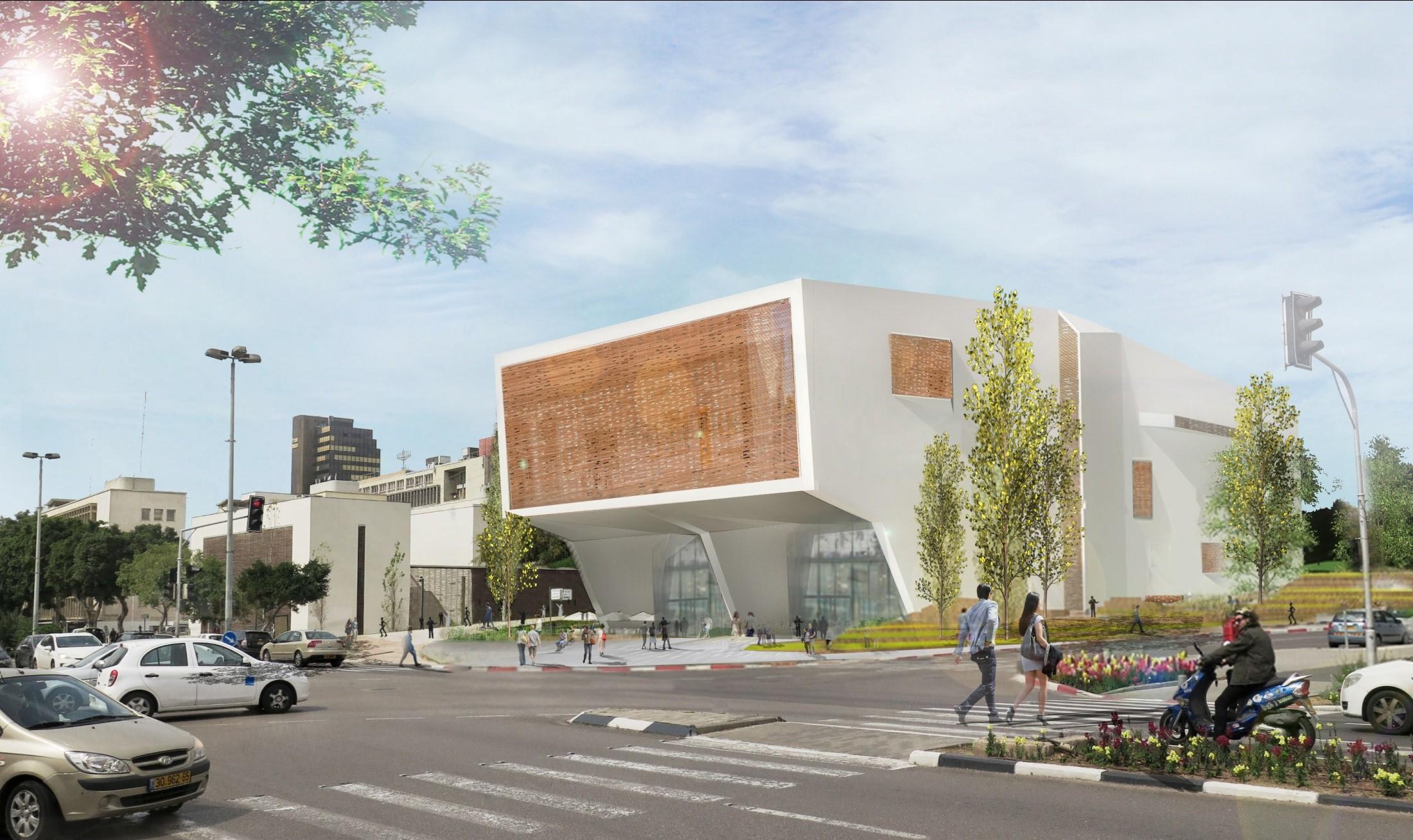 מרכז ספורט רמז ארלוזרוב בתל אביב. הדמיה: מייזליץ כסיף