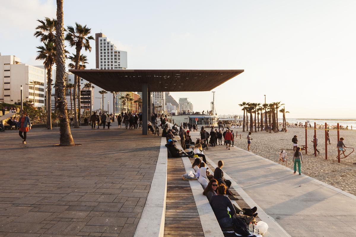 טיילת להט החדשה בתל אביב. צילום: אביעד ברנס