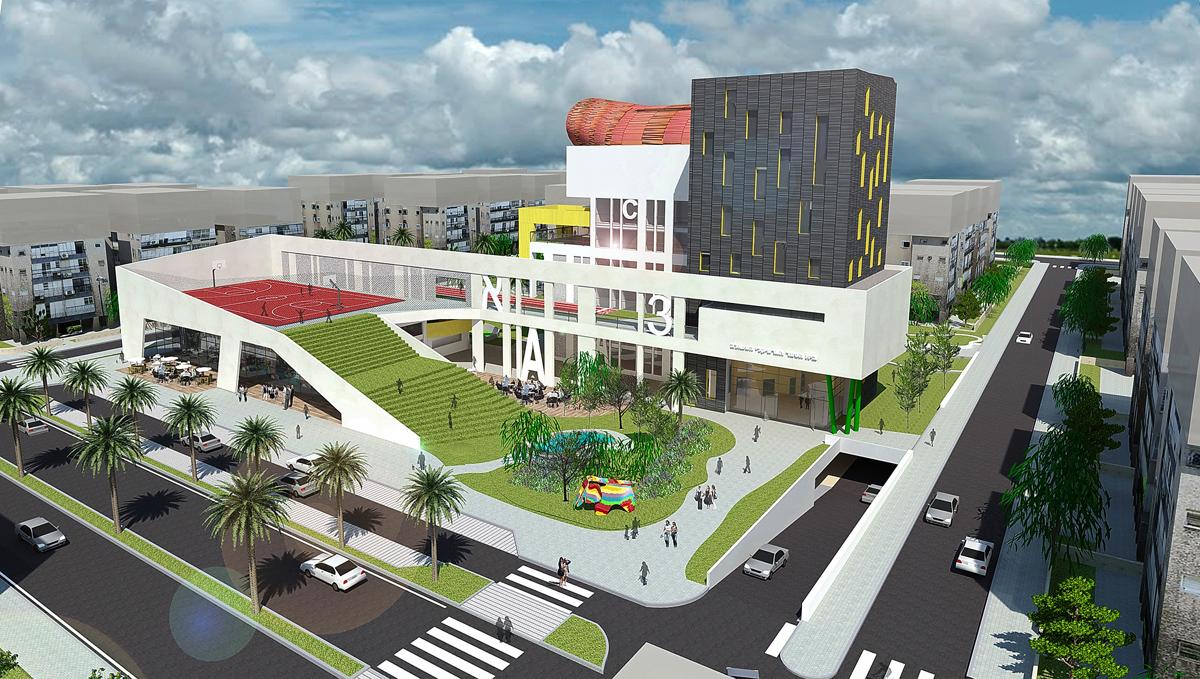 פרויקט בית הספר האנכי