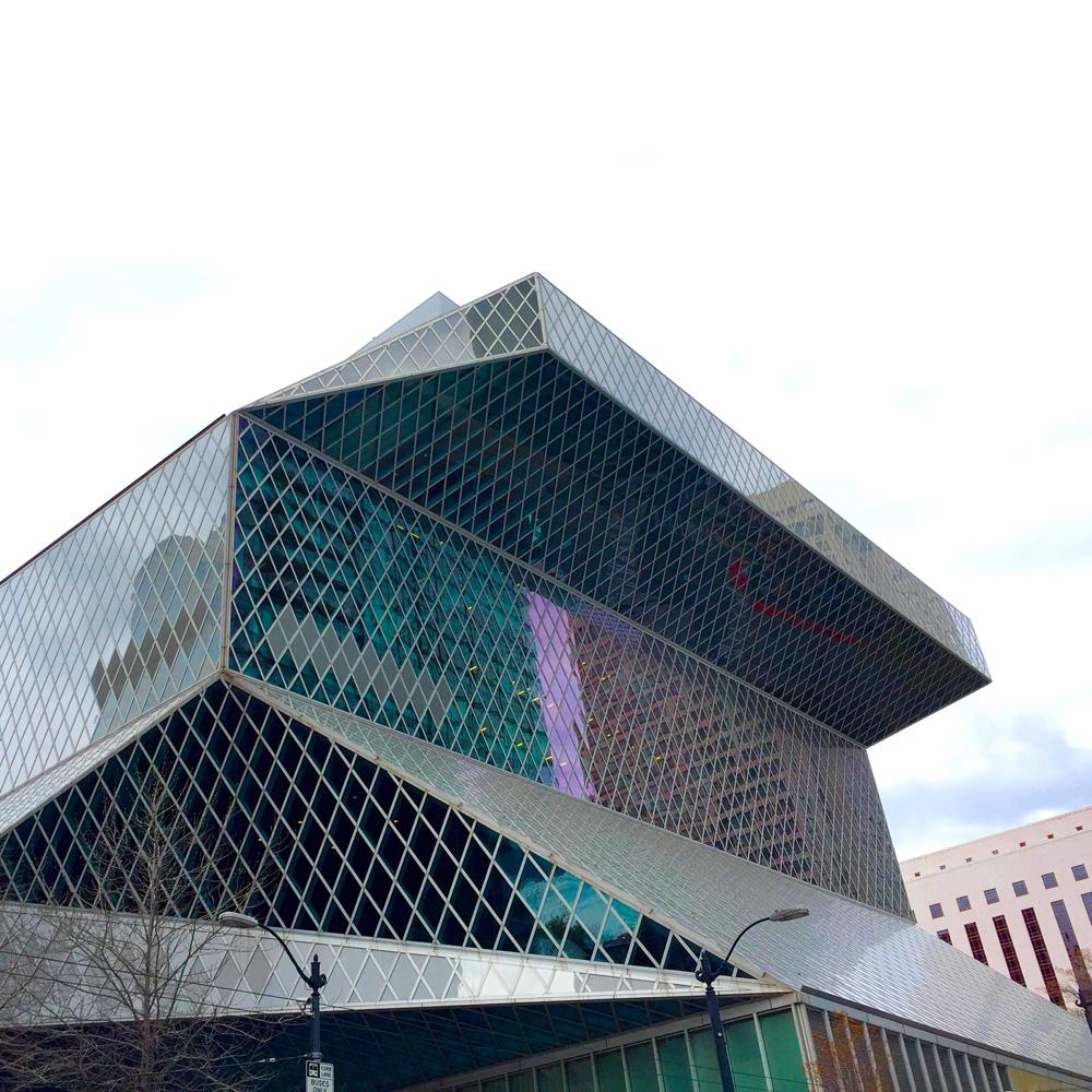 הספריה הציבורית של סיאטל, OMA. צילום באדיבות ברק פרידמן