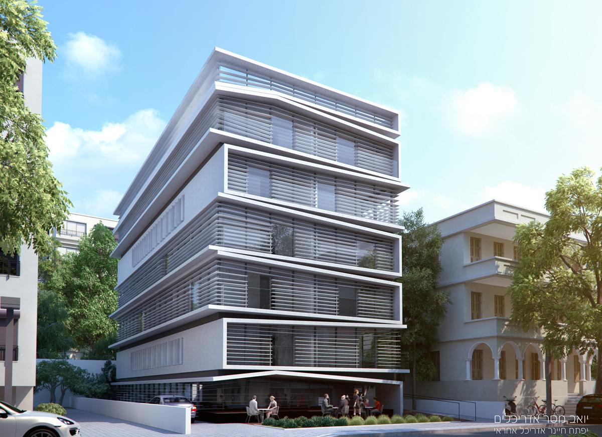 רחוב ברנר, תל אביב, יואב מסר אדריכלים, אדריכל אחראי יפתח חיינר