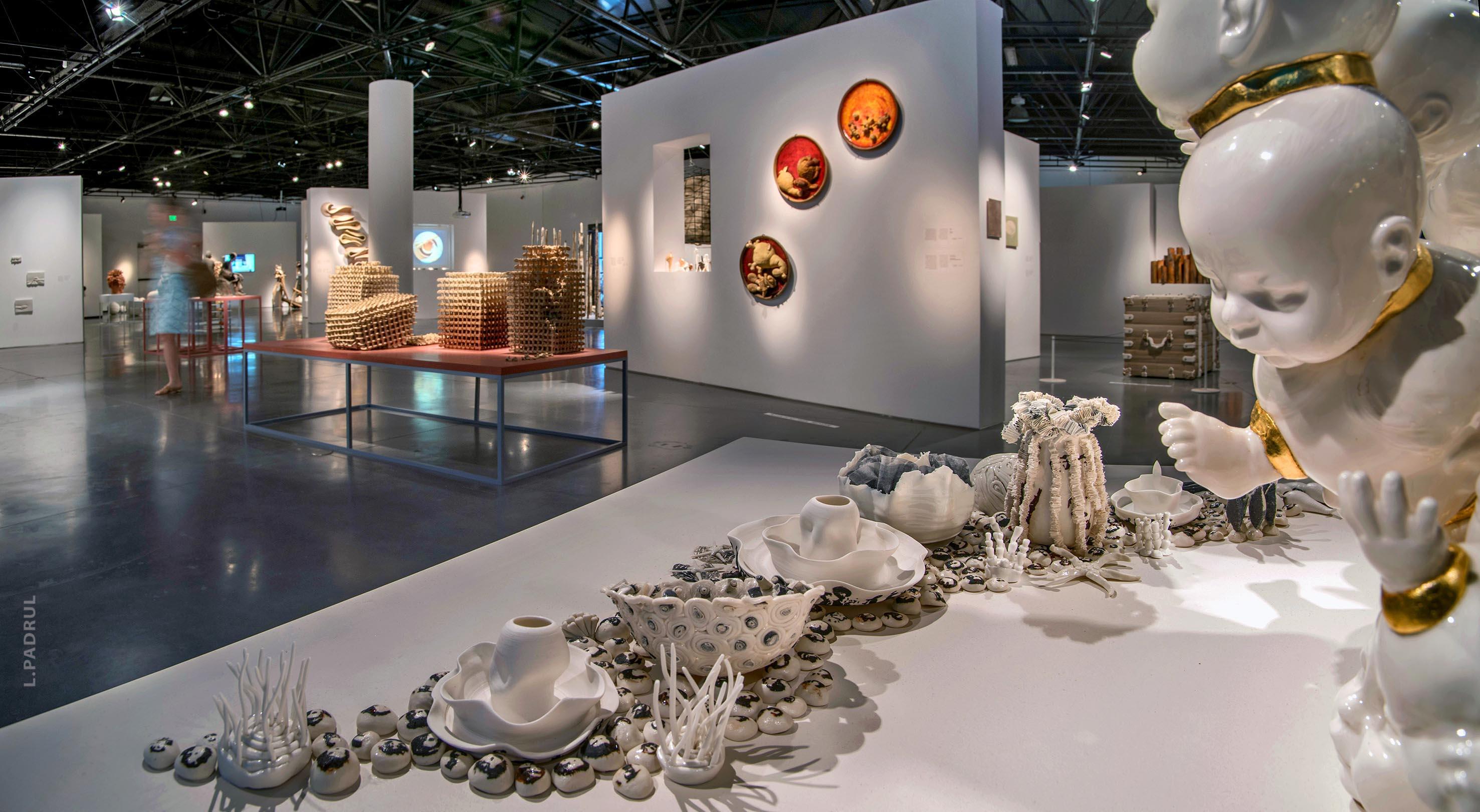 מראה הצבה מתוך התערוכה. צילום: ליאוניד פדרול, מוזיאון ארץ ישראל