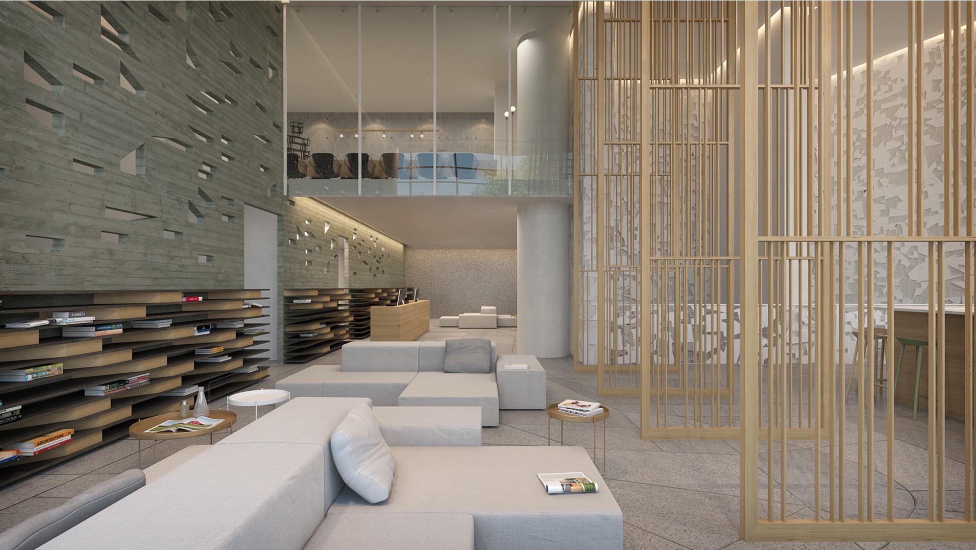 C2 מלון וספא. תכנון: ברנוביץ-עמית, פיצו קדם ואירנה גולדברג. הדמיה: סטודיו בונסאי