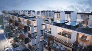 200 יחידות דיור בצפון תל אביב. הדמיה: טוטם הדמיות