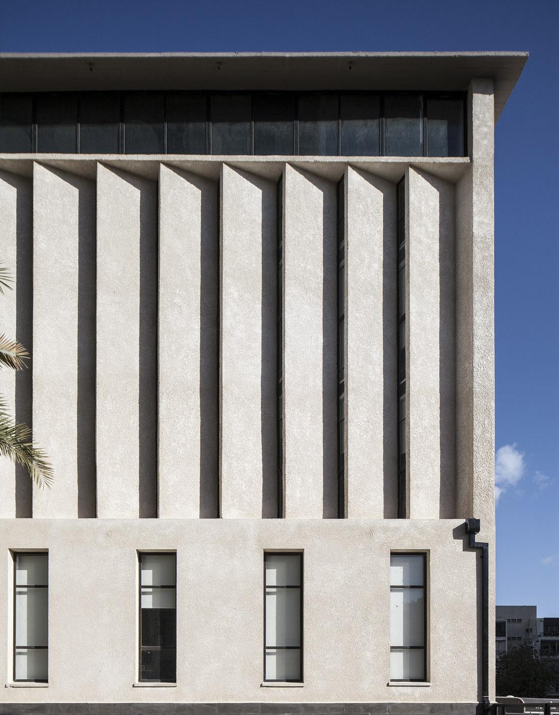 שימור מבנה משנות ה-60 שתוכנן ע״י האדריכל יוחנן רטנר , בשיתוף עם האדריכלית נעמי קטן. צילום: עמית גירון