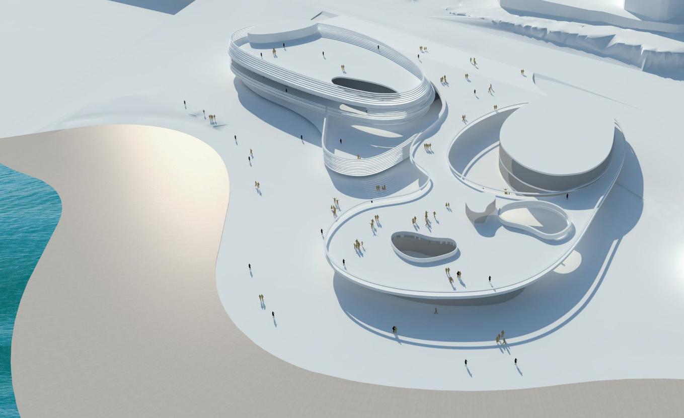 פרויקט חדש בים המלח. הדמיות: גוטסמן שמלצמן אדריכלים