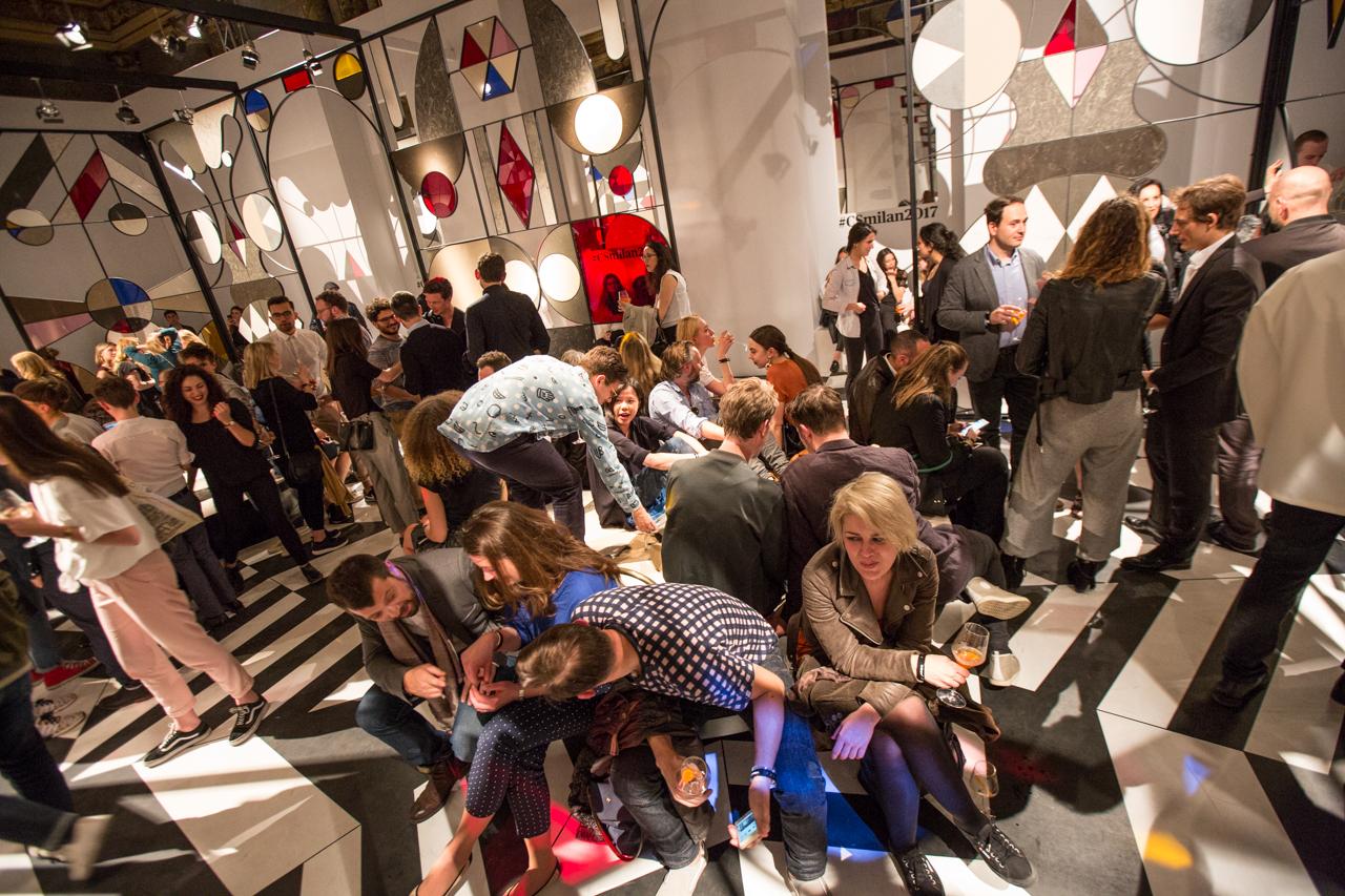 המסיבה של אבן קיסר ומגזין Wallpaper. צילום: Tom Mannion