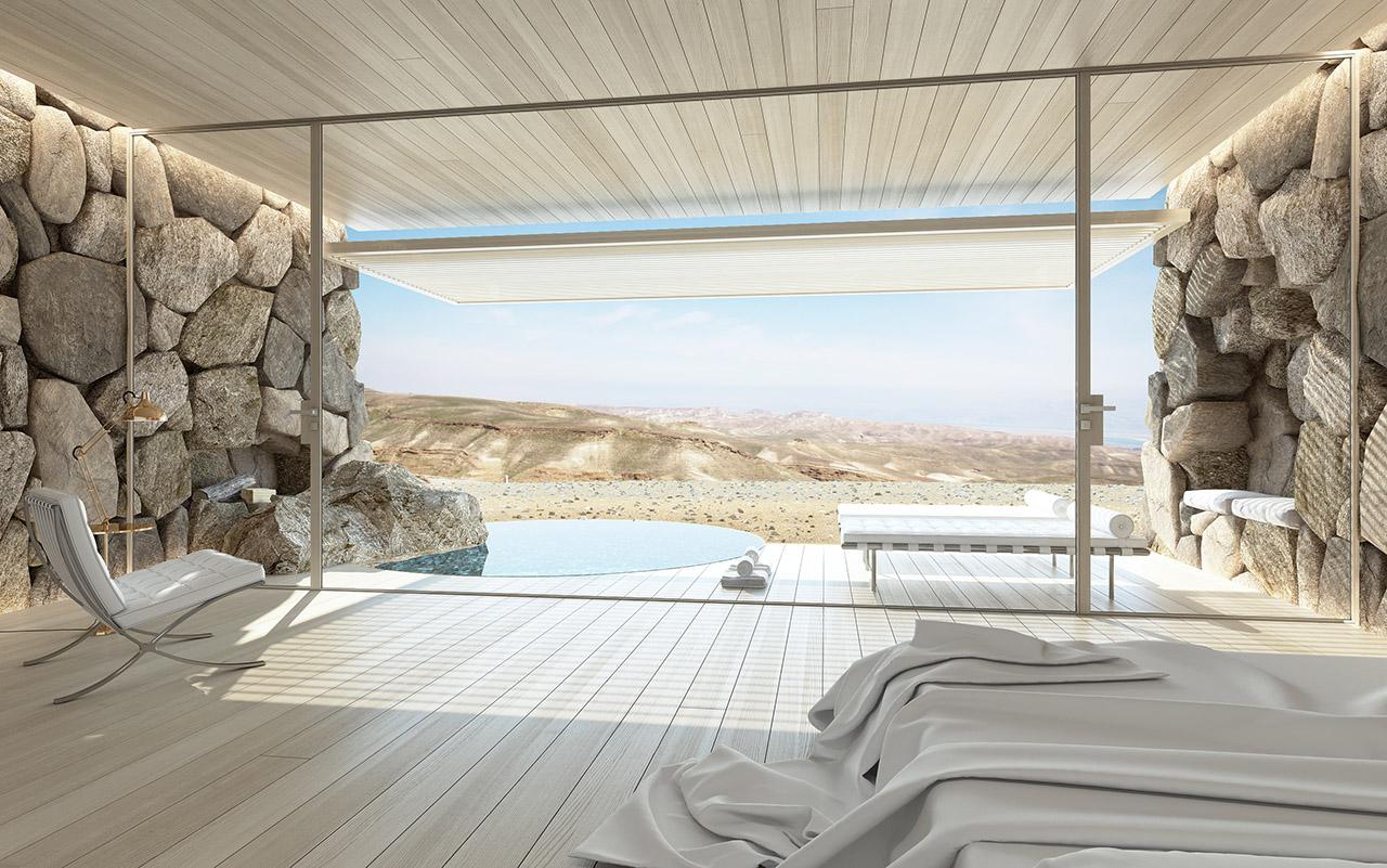 מלון מצדה במדבר